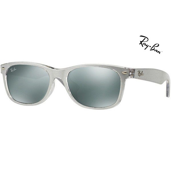 discount ray ban new wayfarer sunglasses  cheap ray ban sunglasses new wayfarer (f) rb2132f 614440 asian fit 55mm