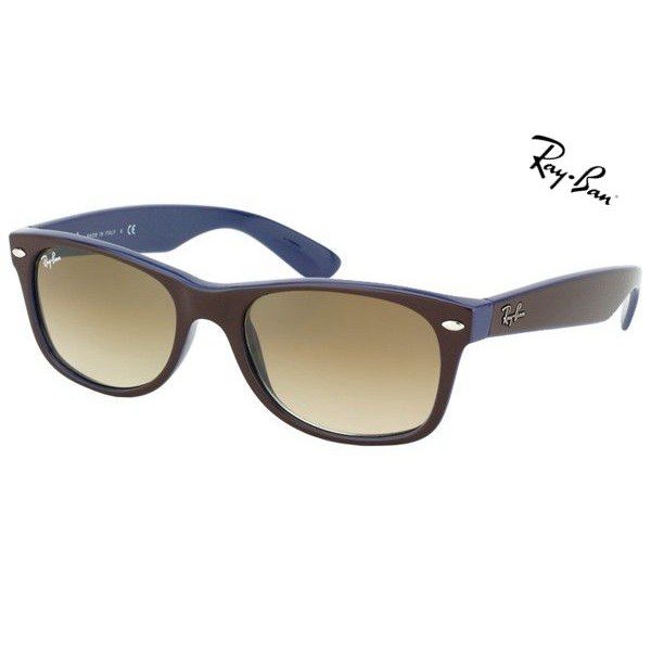 ray ban new wayfarer cheap  Cheap Ray Ban Sunglasses RB2132 New Wayfarer Color Mix 874/51 52mm