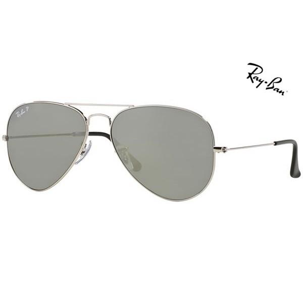 f0e79c5b1f Cheap Ray Ban Sunglasses RB3025 Aviator Large Metal 003 59 Polarized 58mm