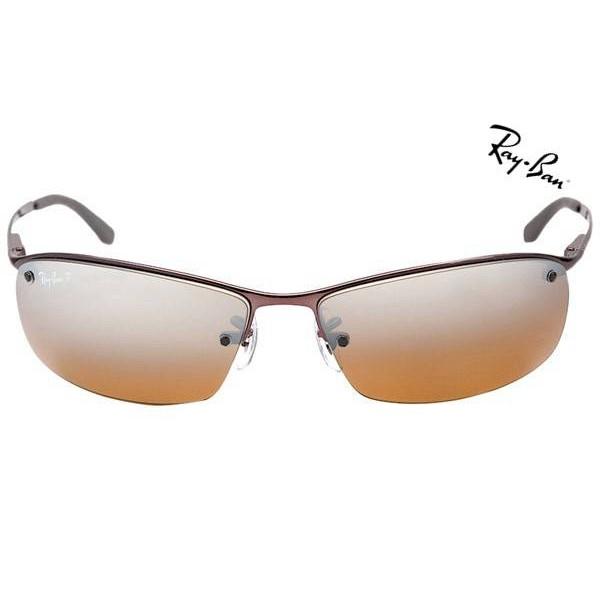 4dcfc87f5df440 Cheap Ray Ban Sunglasses RB3183 Top Bar 014 84 Polarized 63mm