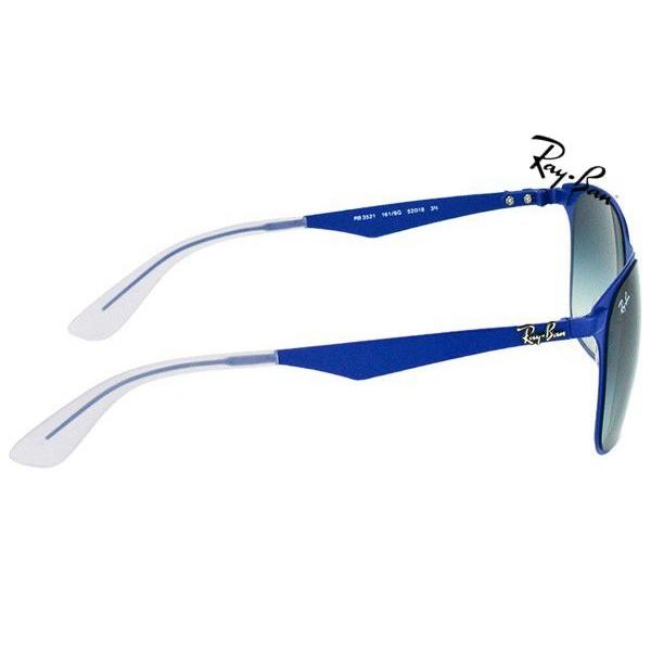 587a8c1e25f Cheap Ray Ban Sunglasses RB3521 Wayfarer Flat Metal 161 8G 50mm