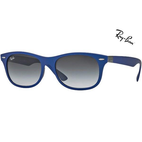 82144e87c1 Cheap Ray Ban Sunglasses RB4207 New Wayfarer Liteforce 6015 8G 52mm