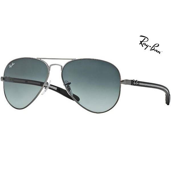 7205b0eecb Cheap Ray Ban Sunglasses RB8307 Aviator Carbon Fibre 029 71 55mm